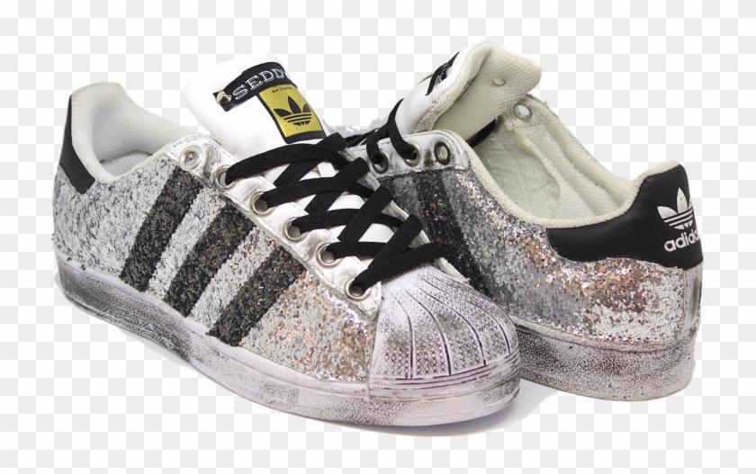 scarpe adidas superstar glitterate
