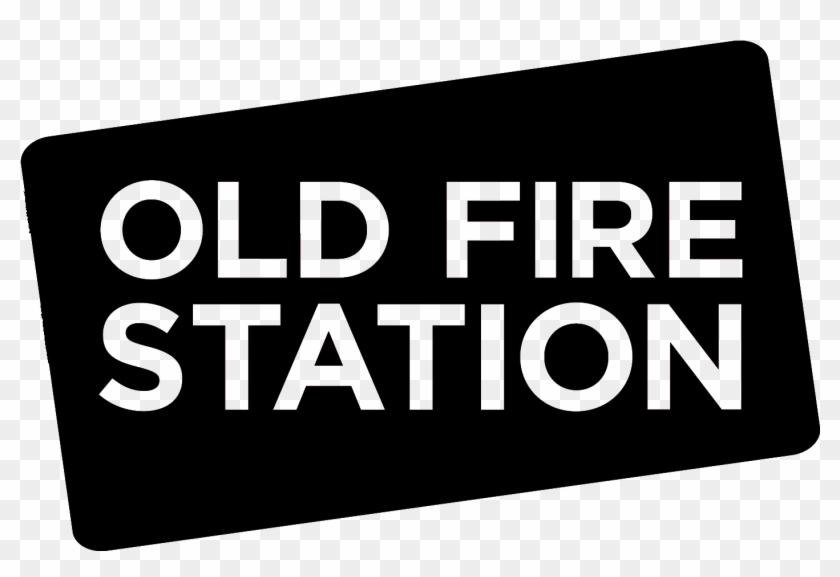 Old Fire Station Logo Black - Arts At The Old Fire Station Clipart #4626802