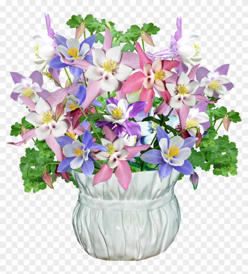 Flowers Vase Spring - Bouquet Clipart #4635072