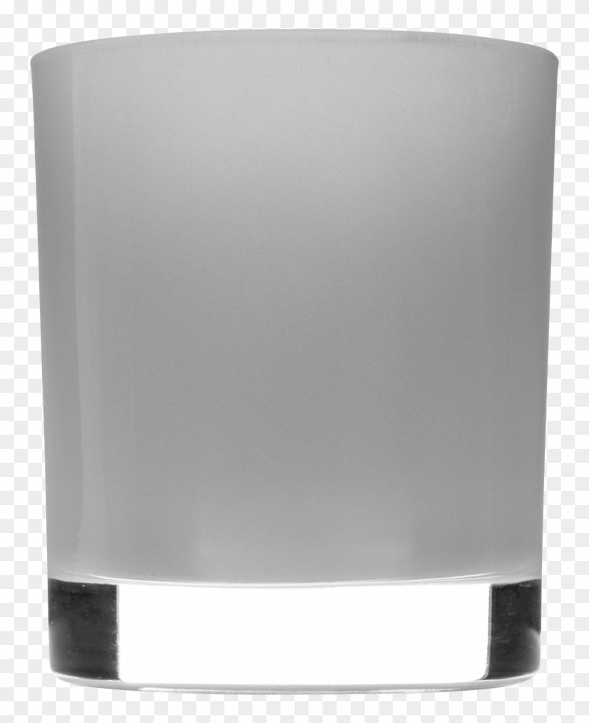 30cl Internally White Gloss Candle Glass Photo - Old Fashioned Glass Clipart #4635371