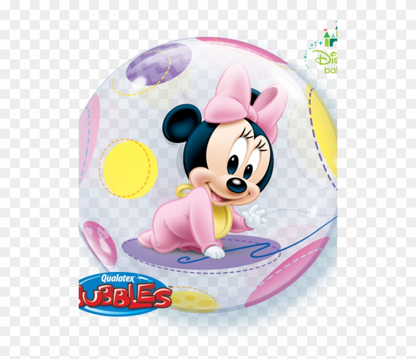 Burbuja Minnie Bebe - Mickey Png Minnie Mouse Baby Clipart #4638994