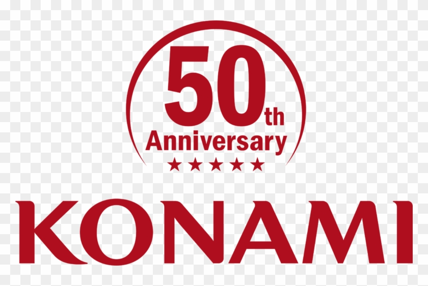 Konami Celebrates 50 Years With Anniversary Collection - Circle Clipart #4647669