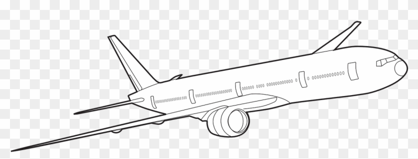 Airplane Jet Boeing 777 Png Image Wide Body Aircraft Clipart