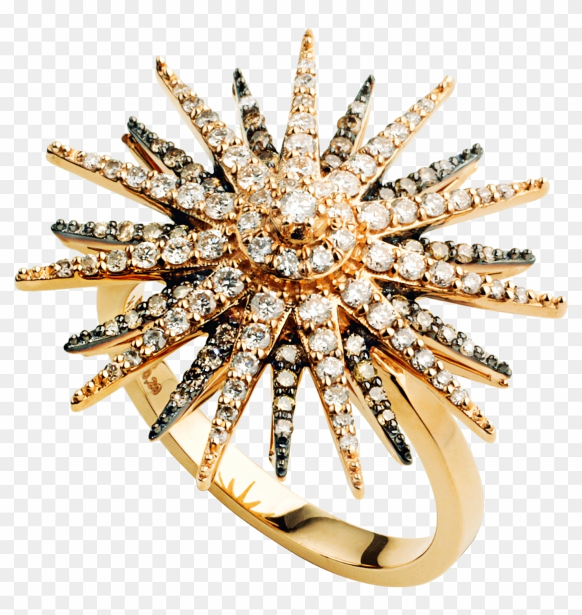 <p>the Star Light Ring Is Crafted From Rose Gold With - Bling-bling Clipart #4667853