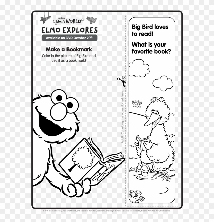 Free Printable Elmo\'s World Coloring And Activity Pages ...
