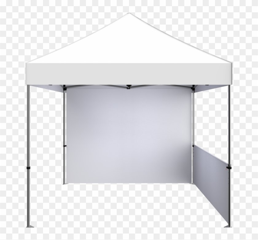 Zoom Pop Up Display - White Tent Png Clipart #4677896