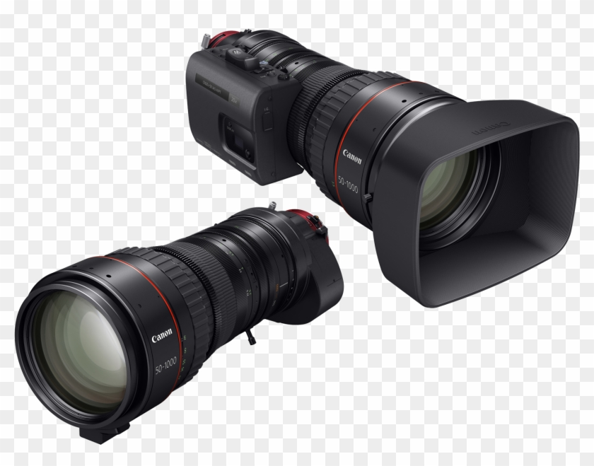 The Canon Cine Servo 50 1000mm T5 - Canon Video Lens Clipart #4678534
