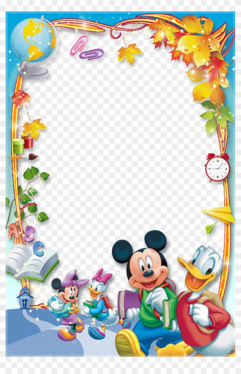 Hľadať Googlom Disney Photo Frames, Disney Frames, - Mickey Mouse Border Designs Clipart #4686344