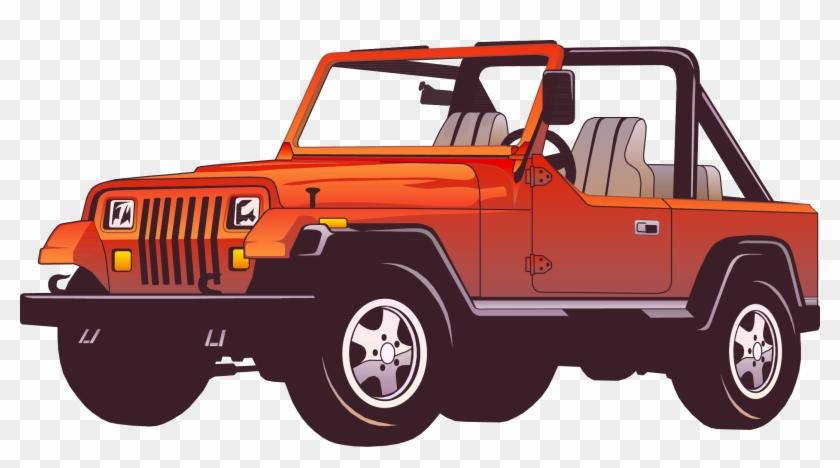 Jeep Wrangler Car Force Clip Art Jeep Cartoon Png Transparent Png 4687446 Pikpng