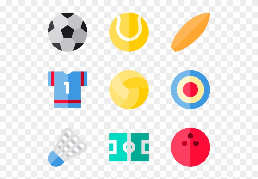 Sport Set - Sports Icons Psd Clipart #473497