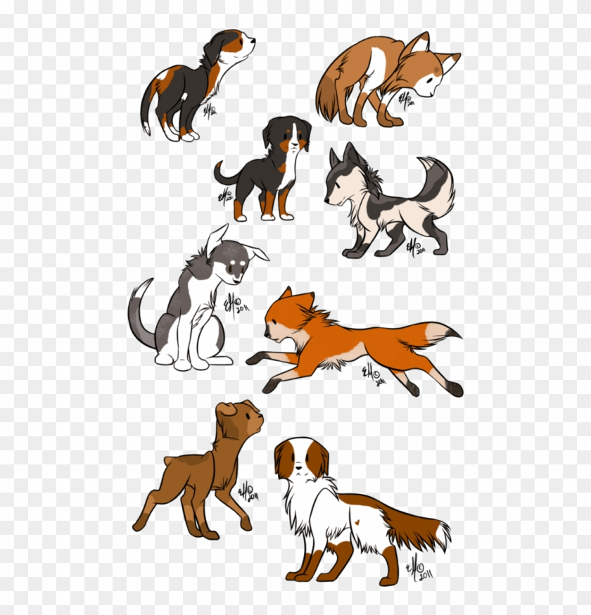 Free Png Download Anime Chibi Dog Png Images Background - Chibi Dog Drawing Clipart #473843