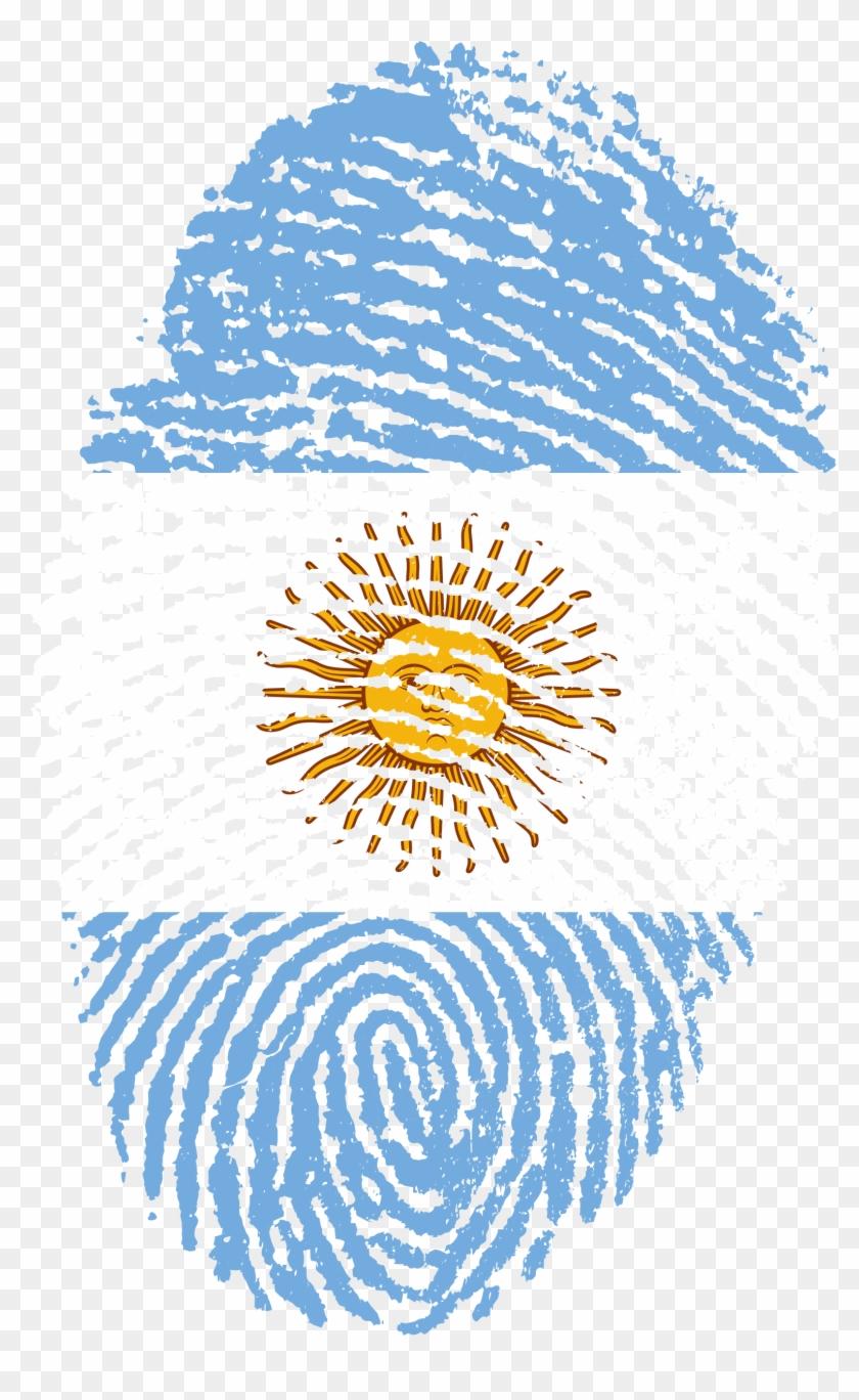 Argentina Flag Fingerprint Country 653062 Transparent Indian