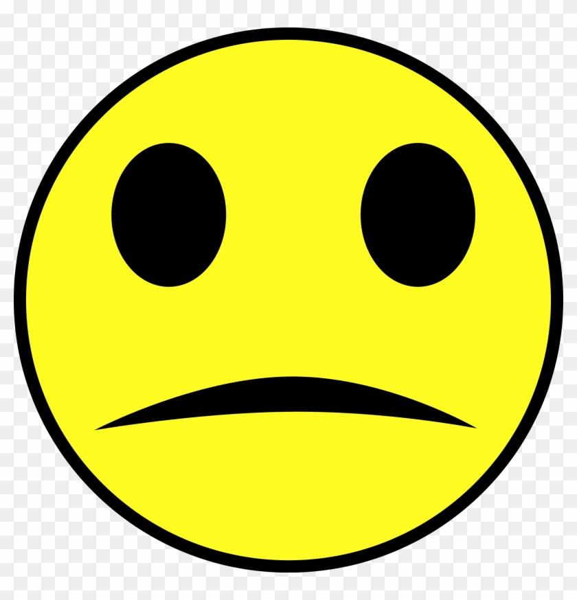 Happy Sad Face - Sad Face Gif Png Clipart #476546