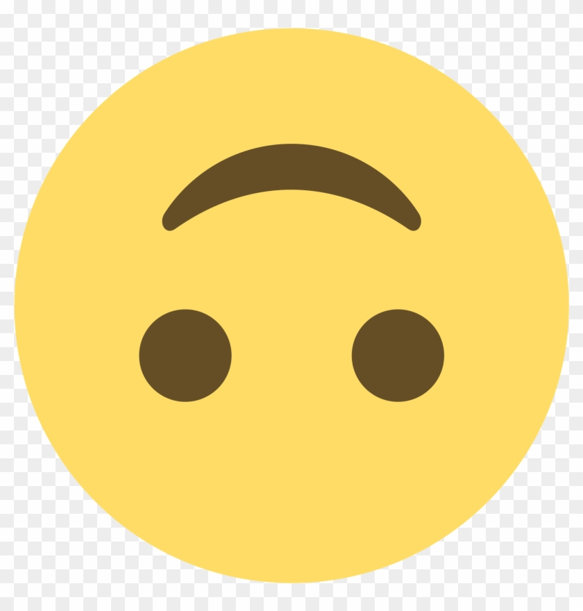 2000 X 2000 16 - Upside Down Smiley Emoji Discord Clipart #478606