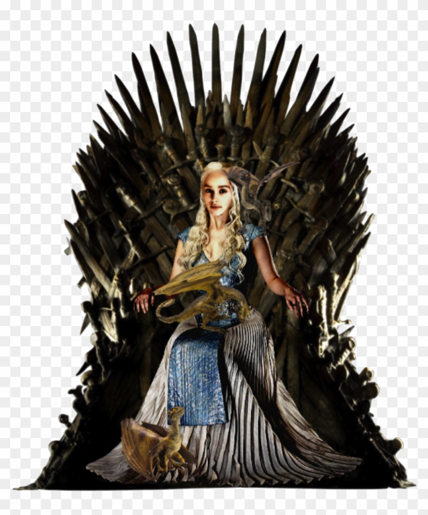 Game Of Thrones Chair Png High-quality Image - Transparent Background Iron Throne Png Clipart #479313