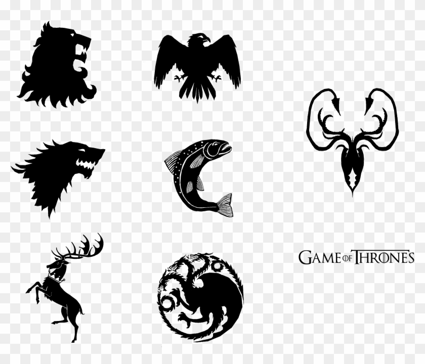 Game Of Thrones House Transparent Image Game Of Thrones House Sigils Svg Clipart 479740 Pikpng
