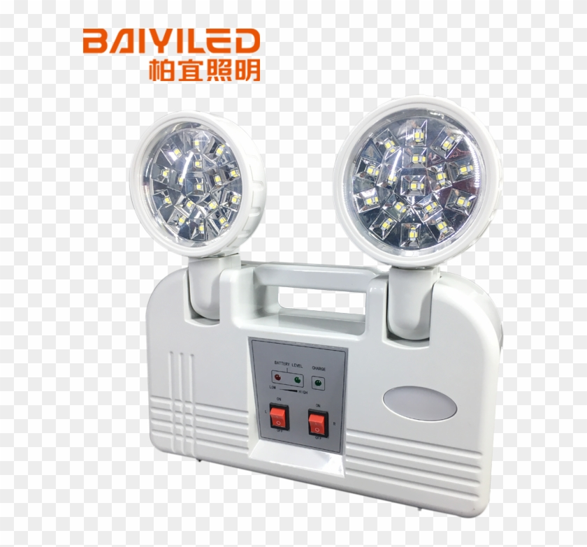 Explosion Proof Twin Spot Emergency Light Led With - Light Clipart #4701072