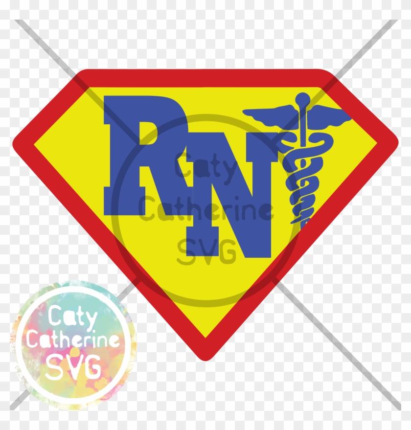 Registered Nurse Super Hero - Medical Symbol Clipart #4702141