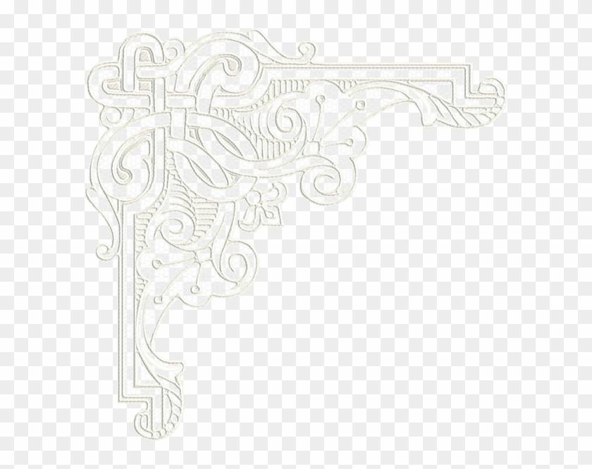 picture freeuse lace clipart corner lace - white lace corner png  transparent png (#4704057) - pikpng  pikpng