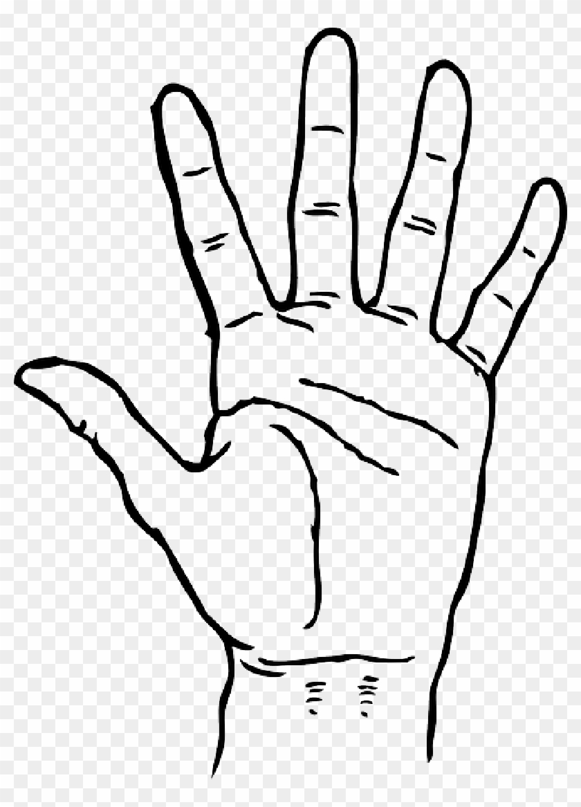 Black Icon Left Right Outline Hand Drawing Open Hand Clipart Black And White Png Download 4704626 Pikpng This right hand is high quality png picture material, which can be used for your creative projects or simply as a decoration for your design & website content. black icon left right outline hand