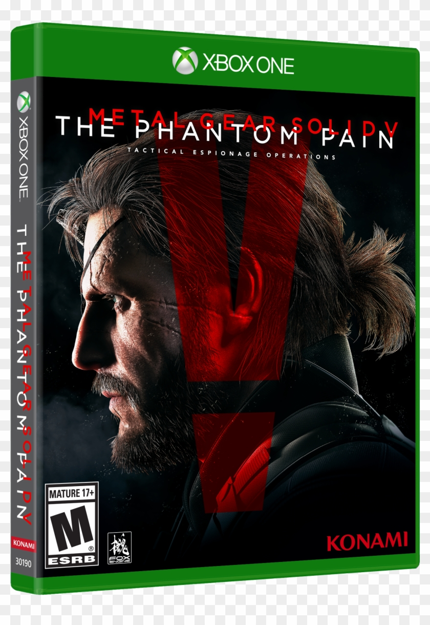 Metal Gear Solid V - Metal Gear Solid 5 Xbox One Game Clipart #4712506