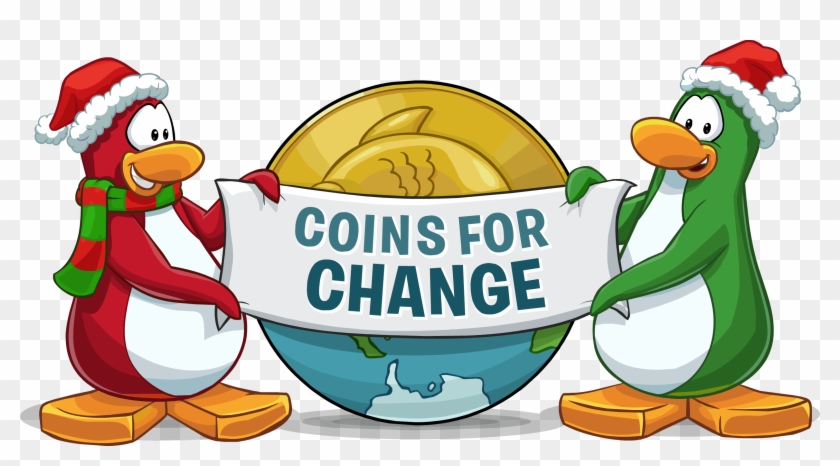 Club Penguin Funds Projects - Club Penguin Coins Clipart #4716010