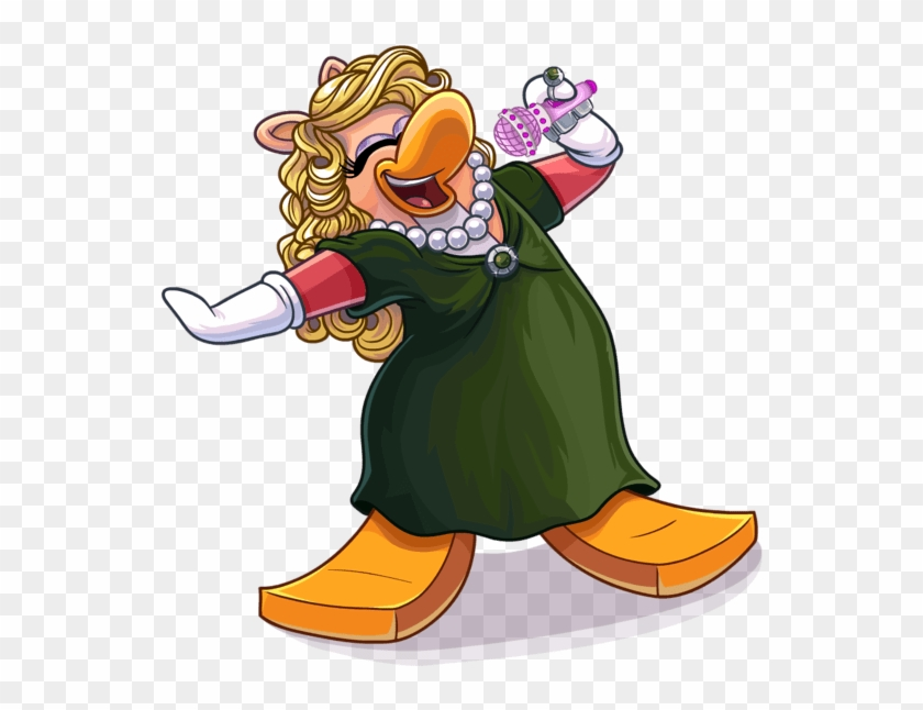 Photo Courtesy Of Club Penguin - Club Penguin Sing Clipart #4716421