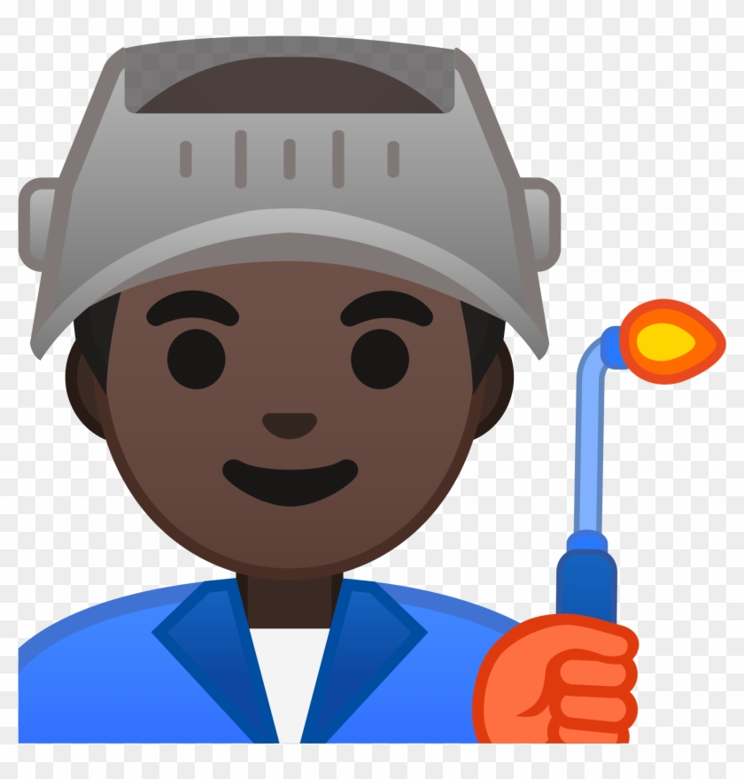 Oreo Clipart Factory - Factory Worker Emoji - Png Download@pikpng.com