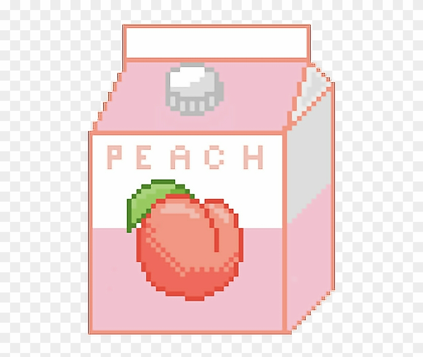 #freetoedit#juice #cute #peach #peachy #tumblr #aesthetic - Peach Aesthetic Tumblr Png Clipart@pikpng.com