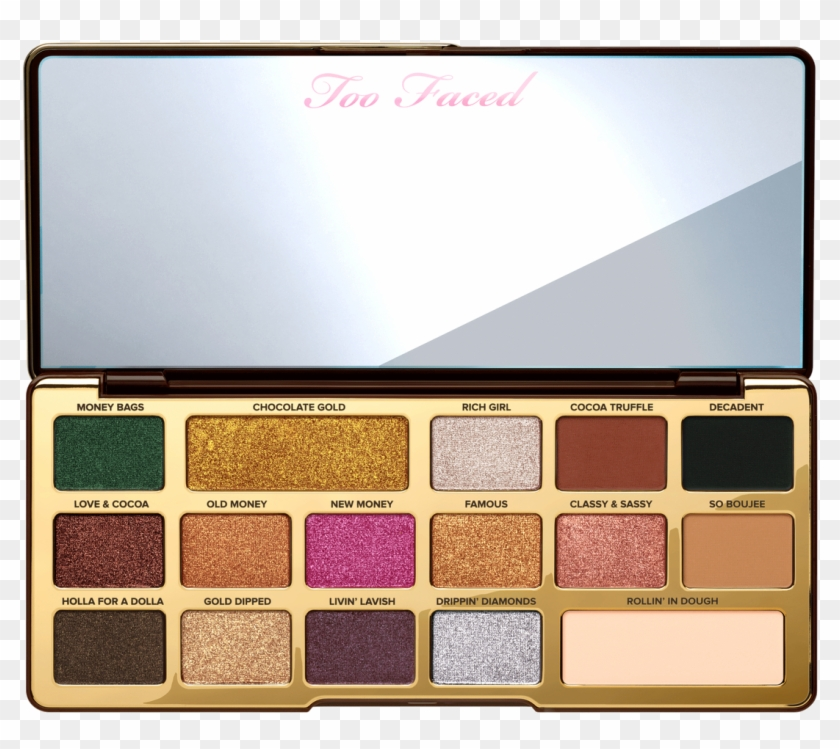 Popluxe - Palette Too Faced Chocolate Gold Clipart #4727202
