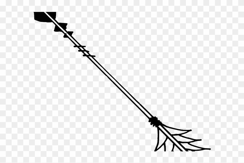 Drawn Arrow Silhouette - Insect Clipart #4732730