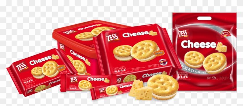 Zess Cracker Sandwiches Cheese - Zess Cracker Sandwiches Clipart #4734965