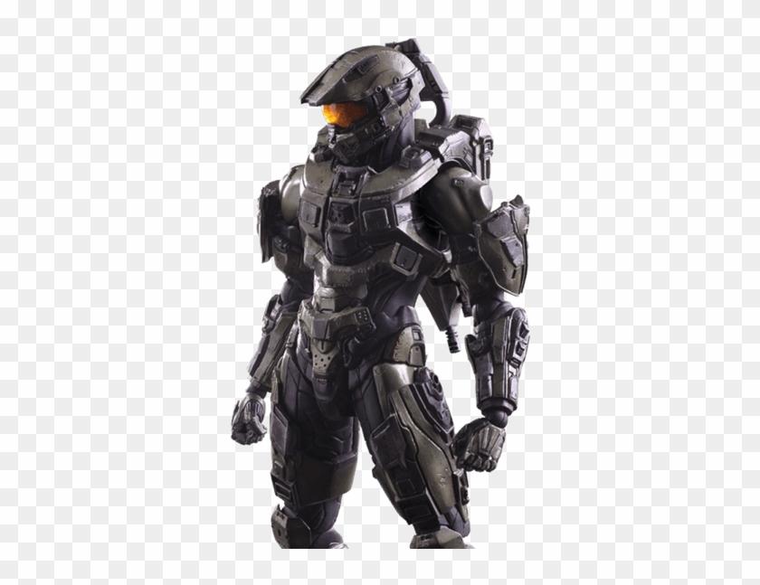 Halo - Halo 5 - Guardians - Master Chief Play Arts - Hot Toys De Halo Clipart #4741862
