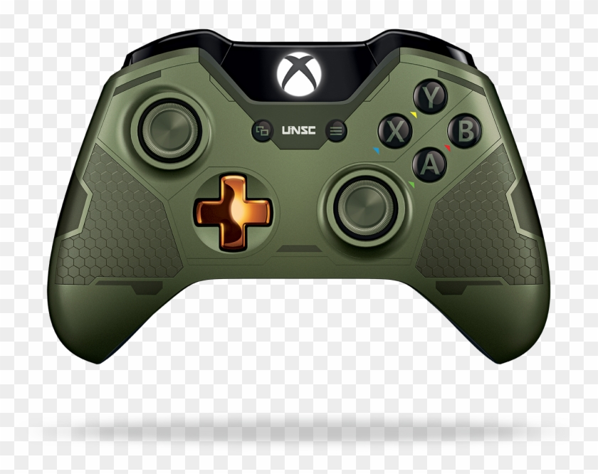 Xbox One Limited Edition Halo 5 Master Chief - Xbox One Master Chief Controller Clipart #4741991