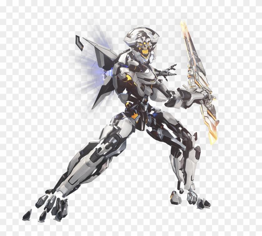 14 Replies 60 Retweets 118 Likes - Halo 5 Warden Eternal Sword Clipart #4742123