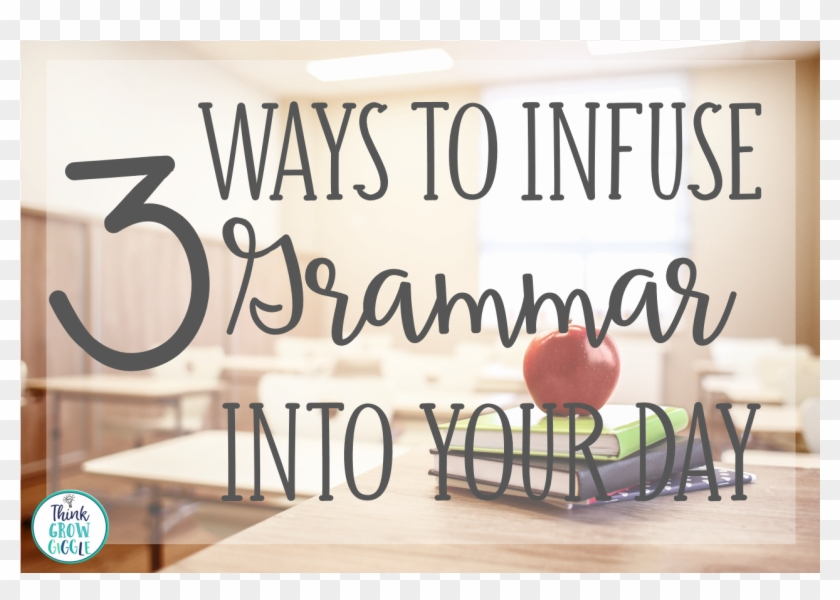 3 Ways To Infuse Grammar In The Classroom Coffee Table Clipart 4745917 Pikpng