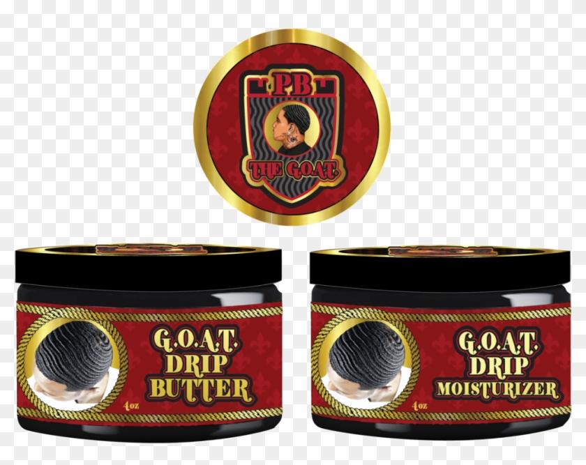 Goat Drip Butter & Moisturizer Duo ** Pb The Goat Merch - Goat Drip Butter Waves Clipart #4759775