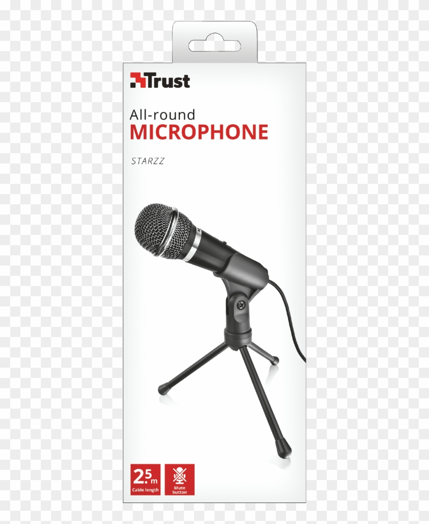 General - Trust All Round Microphone Starzz Clipart #4763234