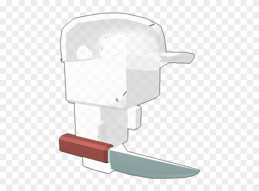 Melvin The Popular Myth In Roblox Knife Clipart 4765436 Pikpng