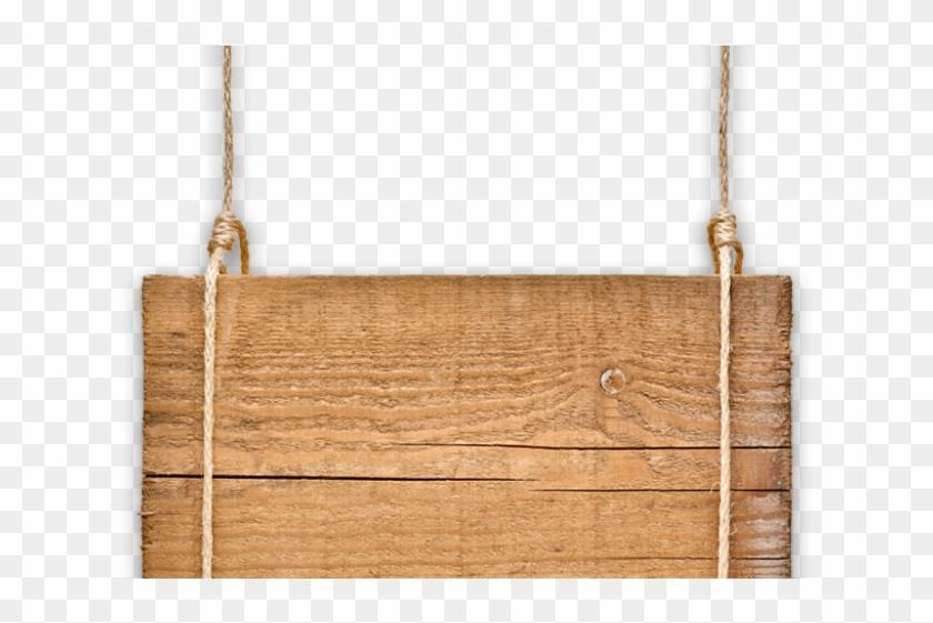Original - Hanging Wooden Sign Clipart - Png Download #4781482