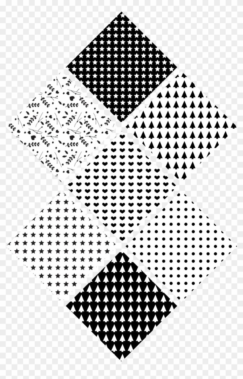 Photo Noir Et Blanc Design motif blanc png - motif noir et blanc a imprimer clipart