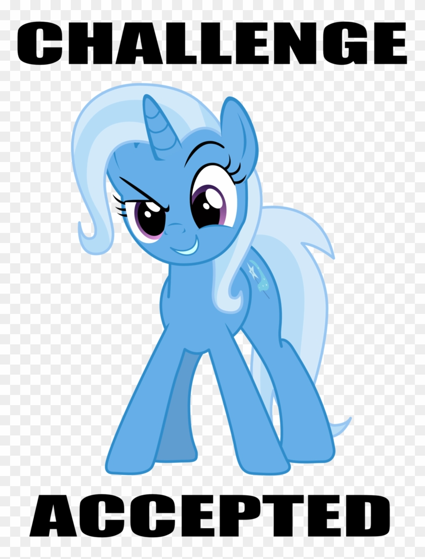 Challenge Accepted Png - Challenge Accepted Pony Clipart #4786158