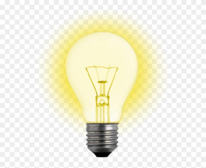 #luz #foco #idea - Light Bulb Clipart #4791404