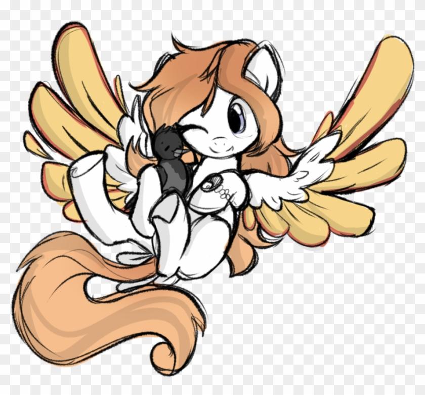 Xsidera, Bird, Bird Pone, Bird Tail, Colored Wings, - Cartoon Clipart #4792059