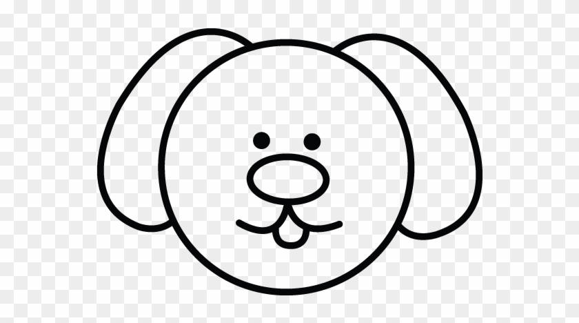 How To Draw A Easy Dog Easy Dog Drawings Simple Clipart 4794125 Pikpng