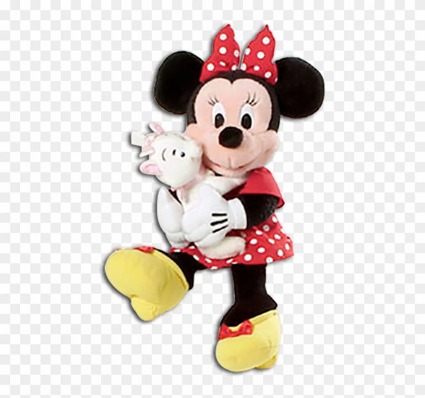 Cuddly Collectibles Mickey Mouse And Friends Stuffed - Doll Mickey Minnie Png Clipart #4797967
