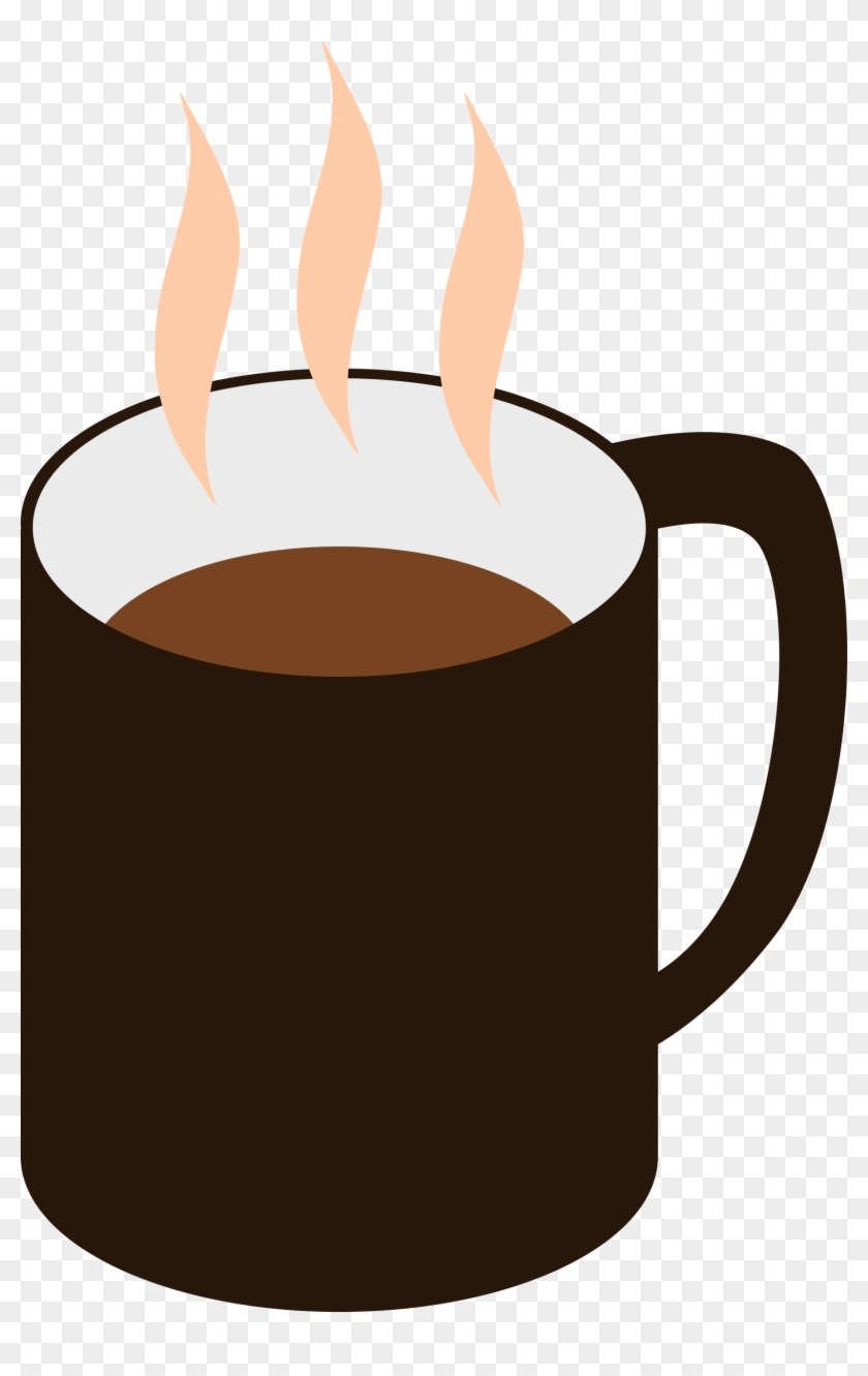 Image Black And White Library Coffee Big Image Png - Mug Of Coffee Clipart Transparent Png #480982