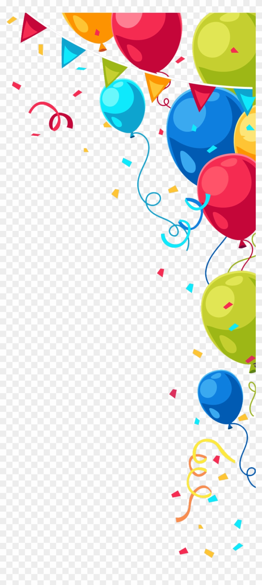 Balloon Happy Birthday Png Clipart #481649
