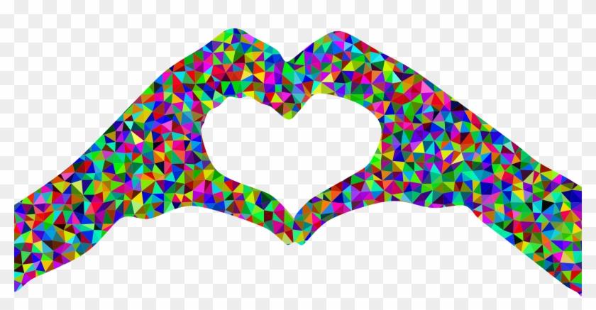 Heart Clipart Clipart Heart Shaped - Heart Hands Clip Art - Png Download #485408