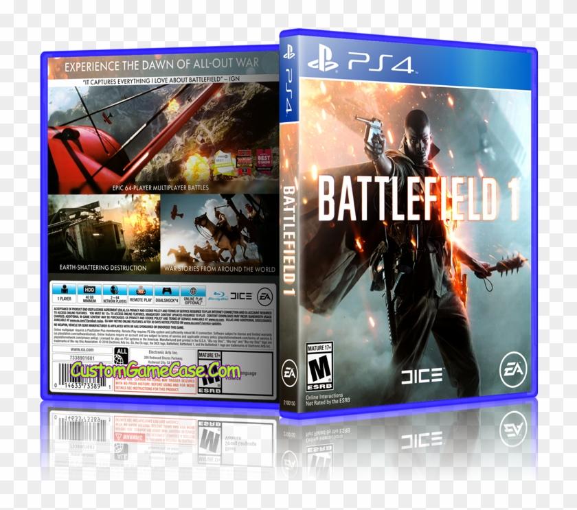 Sony Playstation 4 Ps4 - Battlefield 1 Clipart #486684